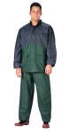Rothco 3660 Rothco 2-Pc Pvc Rainsuit - Blue/Green