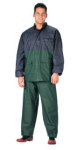 Rothco 3661 3661 Rothco 2-Pc Pvc Rainsuit - Blue/Green