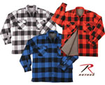 Rothco 3739 Extra Heavyweight Brawny Sherpa-Lined Flannel Shirts