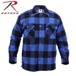 Rothco 3741 3741 Extra Heavyweight Brawny Sherpa-Lined Flannel Shirts