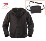 Rothco 3754 3754 Rothco Packable Rain Jacket - Black