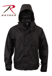 Rothco 3755 3755 Rothco Packable Rain Jacket - Black