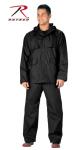Rothco 3765 Rothco Black Microlite Rainsuit