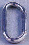 Rothco 377 Silver D Carabiner