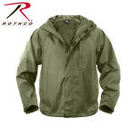 Rothco 3854 Rothco Packable Rain Jacket - Olive Drab