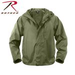 Rothco 3855 Rothco Packable Rain Jacket-Olive Drab