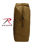 Rothco 3895 Rothco Top Load Canvas Duffle Bag / 25 X 42 - Coyote