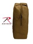 Rothco 3895 Rothco Top Load Canvas Duffle Bag / 25 X 42 - Coyote