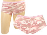 Rothco 3976 Women's Baby Pink Camo ''booty Camp'' Booty Shorts And <br>4976 Women's Baby Pink Camo Tank Top