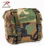 Rothco 40002 Woodland Camouflage GI Type Enhanced Nylon Butt Packs