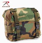 Rothco 40002 Woodland Camouflage GI Type Enhanced Nylon Butt Packs