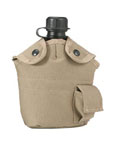 Rothco 40011 Rothco Enhanced Nylon 1qt Canteen Cover- Khaki