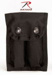 Rothco 40060 Rothco Enhanced Nylon Dual 9mm Clip Pouch-Black