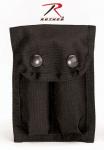 Rothco 40060 Rothco Enhanced Nylon Dual 9mm Clip Pouch-Black