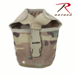 Rothco 40109 Rothco Molle 1qt Canteen Cover-Multicam
