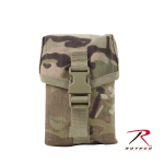 Rothco 40126 Rothco Molle Ii 100 Round Saw Pouch - Multicam