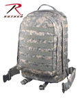 Rothco 40129 M.O.L.L.E. II 3 Day Assault Pack - ACU Digital