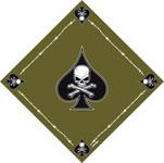 Rothco 4031 ''death Spade'' Bandana