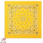 Rothco 4069 Yellow Trainmen Bandana