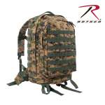 Rothco 41129 Rothco Molle Ii 3-Day Assault Pack-Woodland Digi