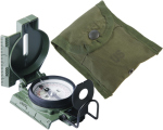 Rothco 415 GI Military Phosphorescent Lensatic Compass (Model 27)