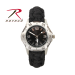Rothco 4253 Rothco Paracord Bracelet Watch - Black