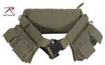 Rothco 4257 Rothco Canvas 7 Pocket Fanny Pack - Olive Drab