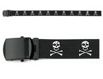 Rothco 4284 ''jolly Roger'' Web Belt - 54''