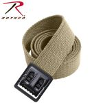 Rothco 4292 4292 Military Color Web Belts W/black Open Face Buckle