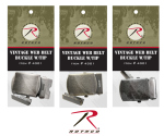 Rothco 4301 Rothco Vintage Web Belt Buckle & Tip Pack