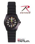 Rothco 4315 Smith & Wesson Tritium Soldier Watch
