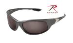 Rothco 4354 Rothco .25 Acp Sunglasses-Gray Frame/Smoke Lens