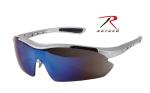 Rothco 4369 Rothco .357 Magnum Sport Glasses-Silver Frame