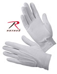 Rothco 4411 Gripper Dot White Parade Gloves