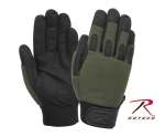 Rothco 4412 Rothco L/W All Purpose Duty Gloves-Olive Drab