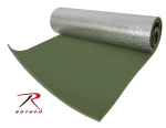 Rothco 4422 Rothco Thermal Reflective Od Sleeping Pad w/Ties