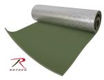 Rothco 4422 Rothco Thermal Reflective Od Sleeping Pad w/Ties