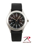 Rothco 4427 Military Style Quartz Watch - Black Strap