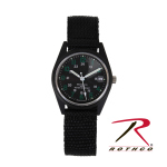 Rothco 4428 Rothco Gi Type Vietnam Era Wind Up Watch - Black