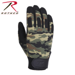 Rothco 4429 Rothco L/W All Purpose Duty Gloves-Woodland Camo