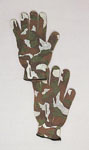 Rothco 4430 Green Camo ''spandoflage'' Hunting Gloves