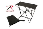 Rothco 4474 Rothco Folding Camp Stool - Black