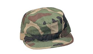 Rothco 4510 Rothco Woodland Camo Fatigue Caps