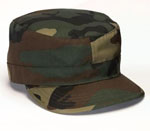 Rothco 4540 Rothco Adjustable Fatigue Cap Woodland