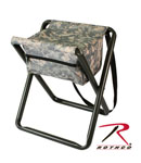 Rothco 4546 Deluxe Stool With Pouch - ACU Digital Camo