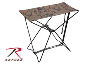 Astounding Rothco 4547 Woodland Digital Folding Camp Stool Cots Gmtry Best Dining Table And Chair Ideas Images Gmtryco