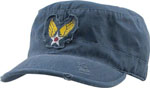 Rothco 4549 Vintage Blue w/Winged Star Military Printed Fatigue Cap