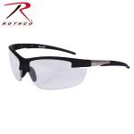 Rothco 4553 Rothco Ar-7 Sport Glasses-Black Frame/Clear Lens