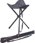 Rothco 4584 Black Collapsible Stool