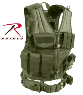 Rothco 4591 Rothco Tactical Cross Draw Vest - Od